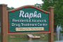 Rapha Treatment Center welcoming sign - Healing for the Hurting